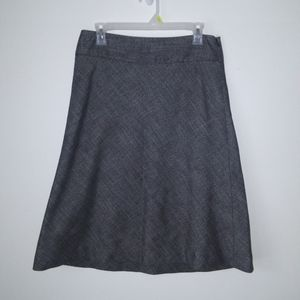 The Limited Gray Business Skirt